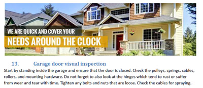Tips - Garage Door Repair Camas